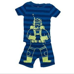 Carter's scuba diver pajamas